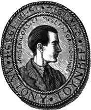Bookplate of Anthony Toynbee